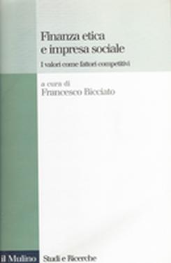 copertina Finanza etica e impresa sociale