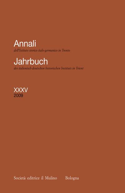 Cover Annali XXXV, 2009