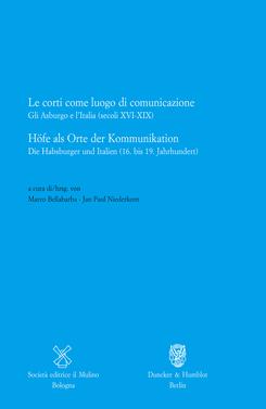 copertina Le corti come luogo di comunicazione