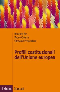 copertina Profili costituzionali dell'Unione europea