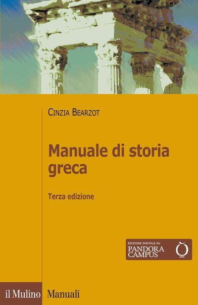 Cover Manuale di storia greca