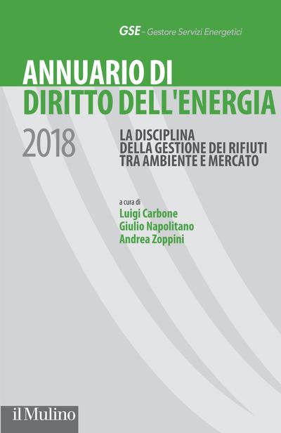 Cover Annuario di Diritto dell'energia 2018