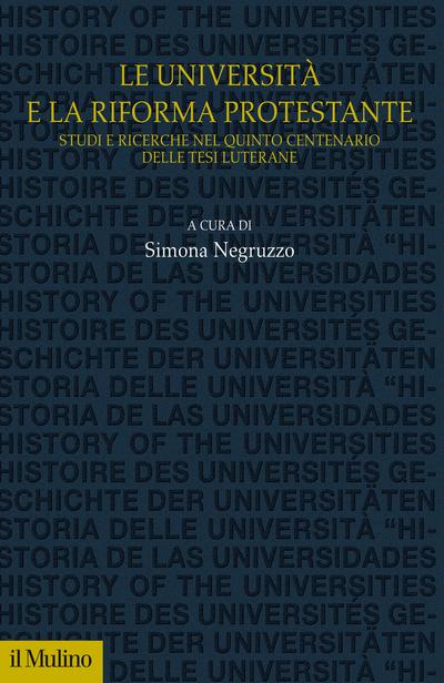 Cover L'università e la Riforma protestante
