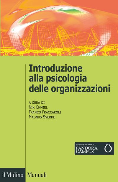Cover Introduzione alla psicologia delle organizzazioni